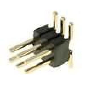 Kolíková lišta kolíkové vidlice PIN:6 svislý 1,27mm SMT 2x3