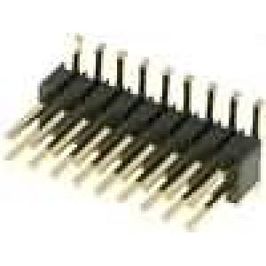 Kolíková lišta kolíkové vidlice 18 PIN svislý 1,27mm SMT 2x9