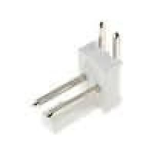 Konektor kabel-pl.spoj řada MLAS100 vidlice zásuvka 2PIN