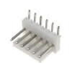 Konektor kabel-pl.spoj řada MLAS100 vidlice zásuvka PIN:6