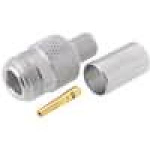 Zástrčka N zásuvka přímý 50Ω CNT400 šroubovací (clamp)