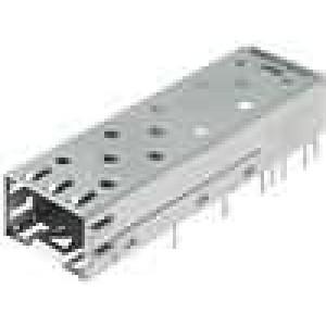 EMC kryt zásuvky Použití: pro konektory SFP