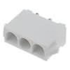 Zásuvka kabel-kabel/plošný spoj vidlice 6,35mm 3 PIN19A