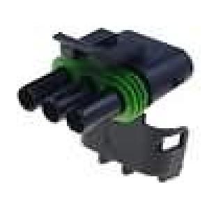 Konektor vodič-vodič Weather Pack zástrčka zásuvka 3PIN