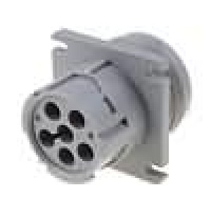 Konektor vodič-vodič AHD zásuvka vidlice 6 PINdo panelu