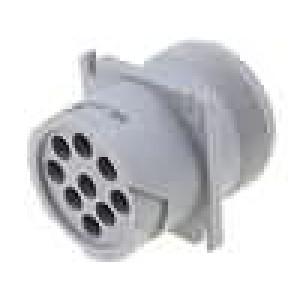 Konektor vodič-vodič AHD zásuvka vidlice 9 PIN do panelu