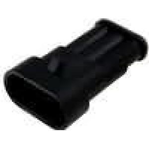 Konektor vodič-vodič Superseal 1.5 zástrčka vidlice 3PIN