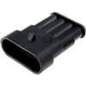 Konektor vodič-vodič Superseal 1.5 zástrčka vidlice 4PIN