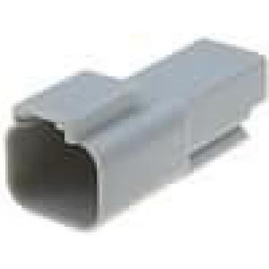 Konektor vodič-vodič AT zástrčka vidlice 2PIN na kabel