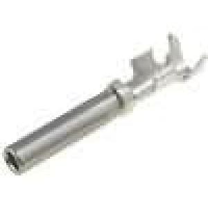 Kontakt zásuvka 0,75-1,5mm2 AHD, AT Rozměr:16 niklovaný páska