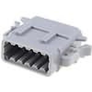 Konektor vodič-vodič ATM zástrčka zásuvka 12PIN IP69K