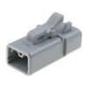 Konektor vodič-vodič ATP zástrčka zásuvka 2PIN na kabel