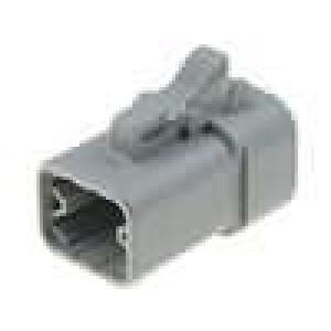 Konektor vodič-vodič ATP zástrčka zásuvka 4 PIN na kabel