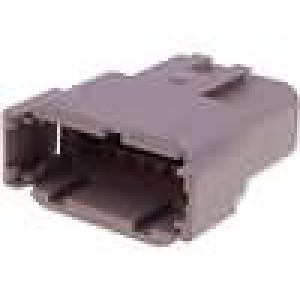 Konektor vodič-vodič DTM zástrčka vidlice 12PIN IP69K