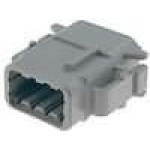 Konektor vodič-vodič DTM zástrčka zásuvka 8 PIN IP69K