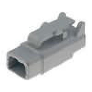 Konektor vodič-vodič DTM zástrčka zásuvka 2PIN IP69K