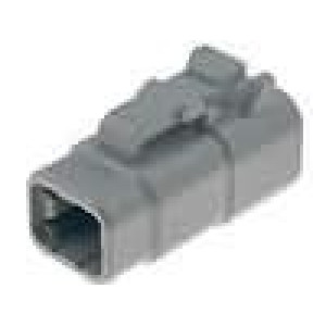 Konektor vodič-vodič DTM zástrčka zásuvka 4 PIN IP69K