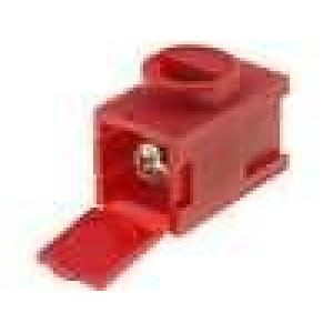 Svorkovnice póly:1 0,14÷2,5mm2 THT, šroubová svorka 26÷12AWG