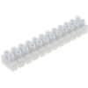 Svorkovnice 12PIN šroubová svorka s ochranou vodiče 1,5mm2