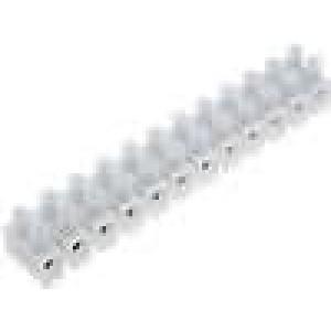 Svorkovnice 12PIN šroubová svorka s ochranou vodiče 10mm2