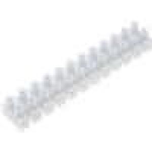 Svorkovnice 12PIN šroubová svorka s ochranou vodiče 2,5mm2