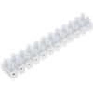 Svorkovnice 12PIN šroubová svorka s ochranou vodiče 6mm2