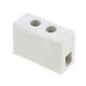 Svorkovnice póly:1 šroubová svorka 2,5mm2 24A 500V