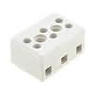 Svorkovnice 3 PIN šroubová svorka 2,5mm2 24A 500V