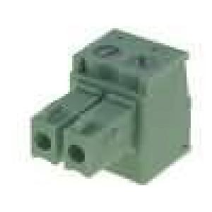 Rozpojovací svorkovnice zásuvka 0,5-1,5mm2 3,81mm póly:2 7A