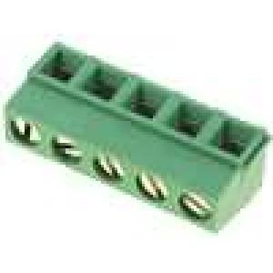 Svorkovnice úhlové 90° 0,03-1,5mm2 5mm póly:5 13,5A 300V