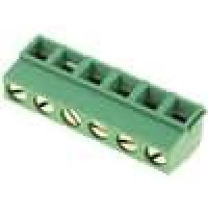 Svorkovnice úhlové 90° 0,03-1,5mm2 5mm póly:6 13,5A 300V