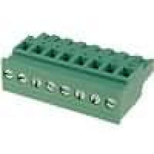 Rozpojovací svorkovnice zástrčka zásuvka úhlový 5,08mm 10A