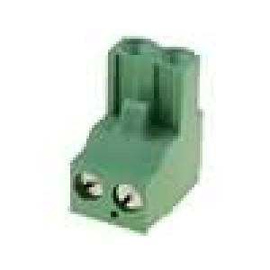 Rozpojovací svorkovnice zástrčka zásuvka přímý 0,03-2,5mm2