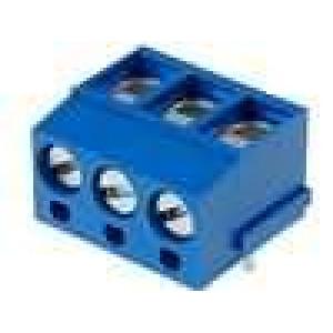 Svorkovnice přímý 2,5mm2 5mm 3 PIN pocínovaný 24A UL94V-0