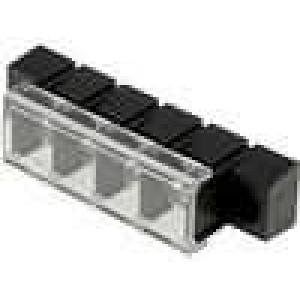 Svorkovnice s krytkou 10mm póly:4 pocínovaný 20A UL94V-0