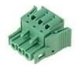 Rozpojovací svorkovnice R.kontaktů:5,08mm póly:3 přímý 250V