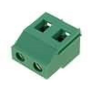 Svorkovnice 7,5mm THT, pero/drážka póly:2 24A 500V
