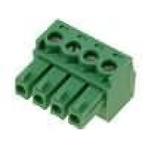 Rozpojovací svorkovnice zástrčka zásuvka 3,81mm póly:4 8A