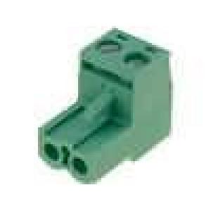 Rozpojovací svorkovnice zásuvka přímý 5,08mm šroubové svorky