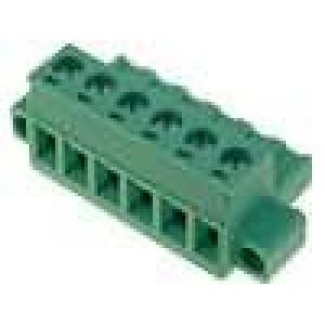Rozpojovací svorkovnice zástrčka zásuvka přímý 2,5mm2 5,08mm