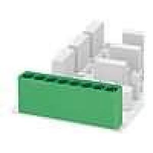 Rozpojovací svorkovnice zásuvka vidlice přímý 10,16mm THT
