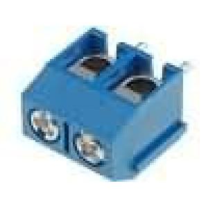 Svorkovnice úhlové 90° 1,5mm2 5mm póly:2 pocínovaný 16A 250V