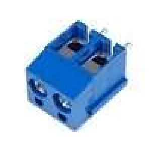 Svorkovnice úhlové 90° 2,5mm2 póly:2 pocínovaný 16A UL94V-0