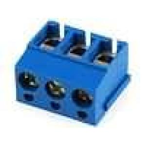 Svorkovnice úhlové 90° 2,5mm2 3 PIN pocínovaný 16A UL94V-0