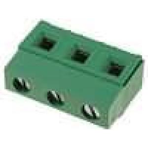 Svorkovnice úhlové 90° 7,5mm 3 PIN 17,5A UL94V-0 12-30AWG