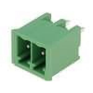 Rozpojovací svorkovnice zásuvka vidlice přímý 3,5mm póly:2