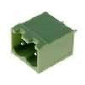 Rozpojovací svorkovnice zásuvka vidlice přímý 5,08mm THT