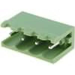 Rozpojovací svorkovnice R.kontaktů:5mm póly:4 přímý zásuvka