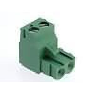 Rozpojovací svorkovnice zástrčka zásuvka 5,08mm póly:2 15A