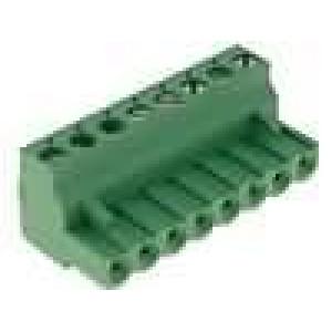 Rozpojovací svorkovnice zástrčka zásuvka 5,08mm póly:8 15A